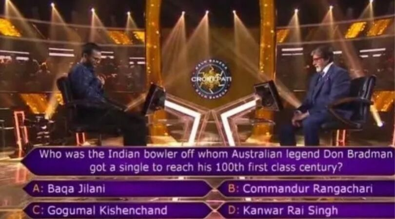 Sir Don Bradman's 100th First Class Hundred and the Rs 7-crore KBC question