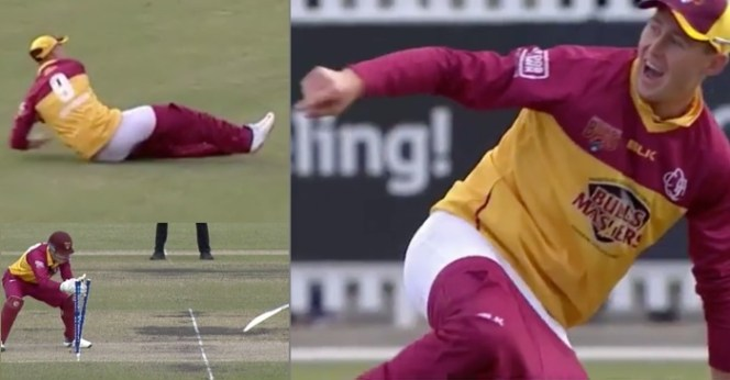 Watch: Marnus Labuschagne Gets An Excellent Run-Out despite his pants coming off