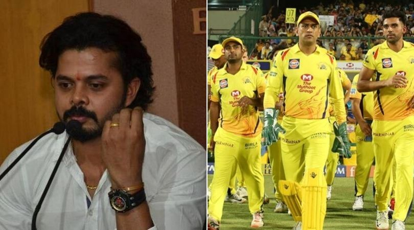 Kerala Cricketer Sreesanth reveals about his hatred to Chennai Super Kings