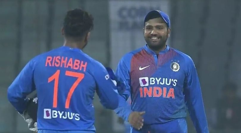 Watch: Rohit Sharma commits DRS error thrice, Probably because of Rishabh Pant