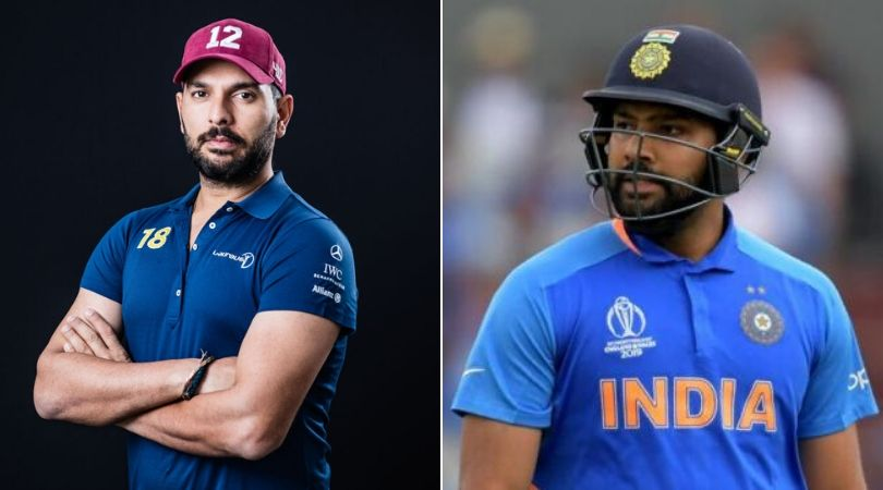 """Yuvraj Singh hilarious reply to Rohit Sharama when he commented """"boring"""" on his post"""
