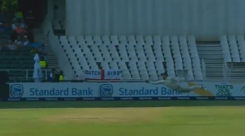 WATCH: Faf du Plessis performs a blinder to dismiss Joe Root in the Johannesburg Test