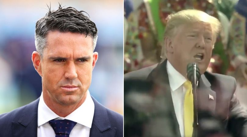 ICC and Kevin Pietersen takes dig at Donald Trump after Pronouncing Sachin Tendulkar's Name Incorrectly