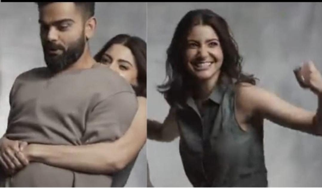WATCH: Anushka Sharma shares a video of her lifting Virat Kohli